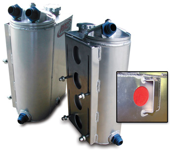 Vertical Dry Sump Oil Tank